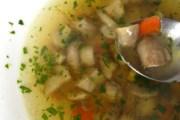 Bakina juha od telećeg mozga i gljiva