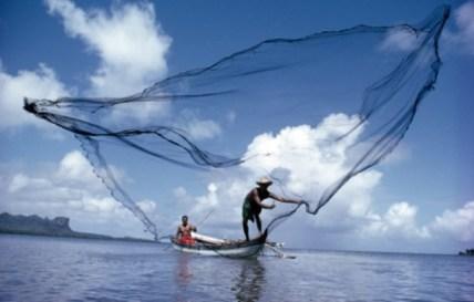 Ribari sa mrežom