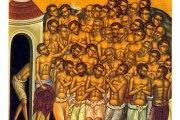10. ožujka blagdan četrdeset mučenika