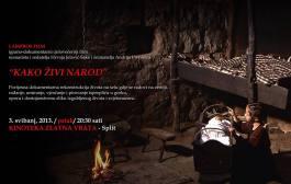 """""""Kako živi narod"""" dokumentarni film o narodnim običajima i životu na selu"""