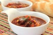Jednostavna crvena goveđa juha