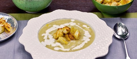 Domaća juha od celera
