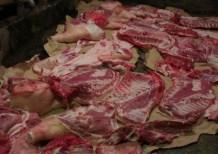 Hlađenje mesa poslje kolinja