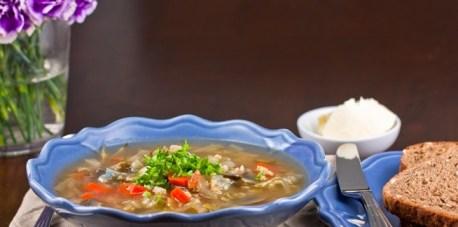 Jednostavna juha s povrćem i rižom