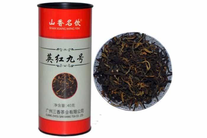 Dragon rouge du thé chinois