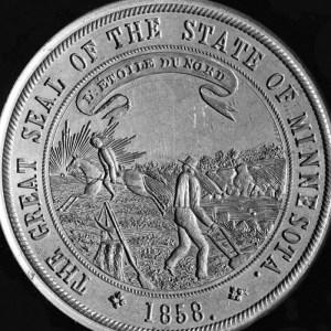 1858 Minnesota State Seal