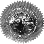 1881-1960 Recast State Seal