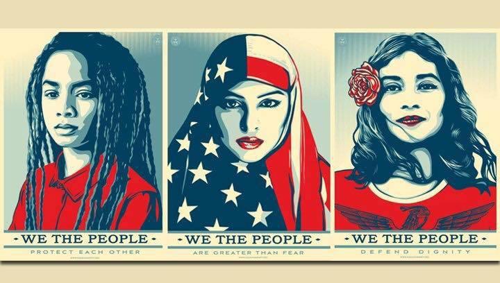 Diverse American women