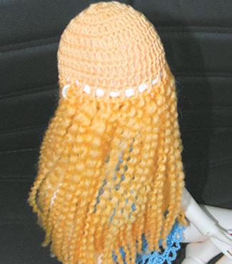 Vi laver hårrapunzel fra Cap
