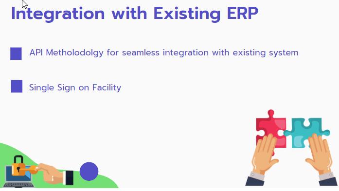 ERP Integration of online exams