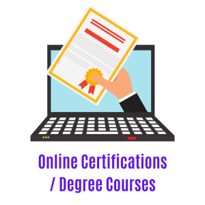 online certifictions and courses