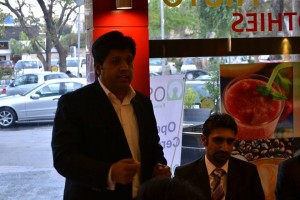 Babar Zahoor Founder OSFP during Opening Speech