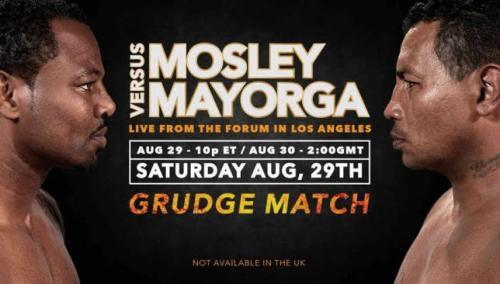 Shane Mosley Ricardo Mayorga II boxing rematch sport360