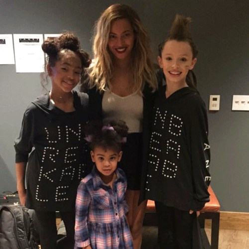 Beyonce Blue and Janets dancers