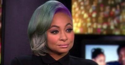 Raven Symone colorful hair