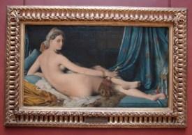 Une Odalisque, by Jean-Auguste-Dominique Ingres