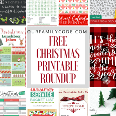 10 Christmas Printables Round Up