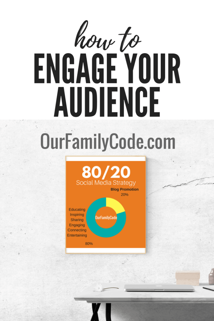 grow your blog how to engage your audience with 80/20 social media strategy