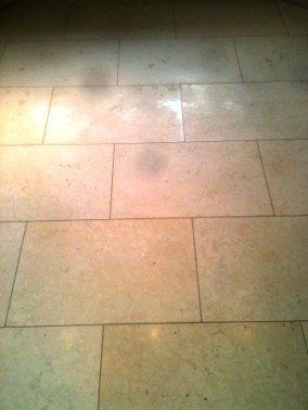Honed Limestone Before