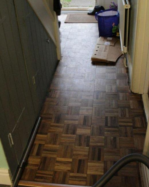 Victorian Floor Oxford Before Cleaning