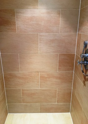 Porcelain Shower After Renovation in Didcot
