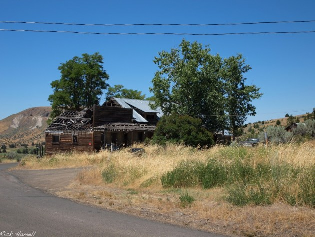 Ghost town of Richmond, Oregon