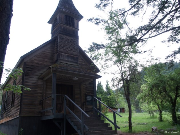 Golden Ghost Town Church