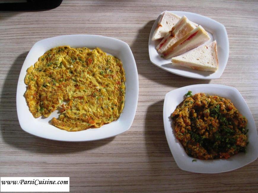 Pearline Hotel Food Omelet Akuri Jam Sandwich