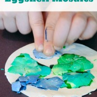 Eggshell Mosaics: E is for Earth & Eggshells