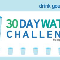 30 Day Water Challenge - #64ozChallenge