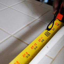 Step 1: Measure your PVC to 35 inches