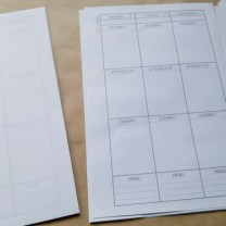 Step 3: Organize pages into correct order.