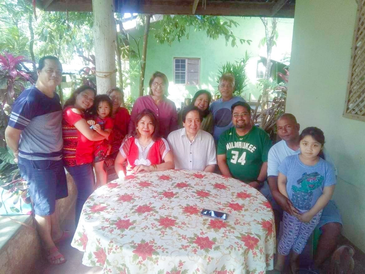 Calabia Family with Mr. Ismael Cruz & Mrs. Bessie Ocampo-Cruz