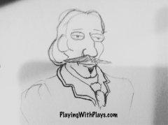 robert louis stevenson sketch