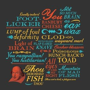 Classic Shakespeare Insults