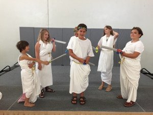 Caesar togas bed sheets