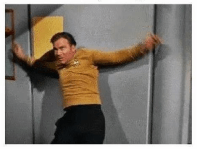 Shatner over reacting