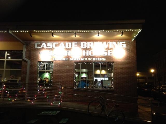 Cascade Barrell Brewing House Front