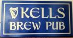 Kells Brew Pub Sign