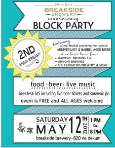 Breakside block party 2012
