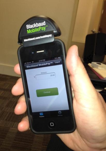 Blackbaud MobilePay Device