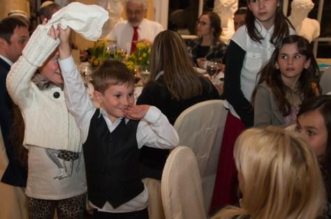 photo of kids: We found the Afikommen!