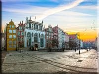 photo: Gdansk-City-On-Sunrise