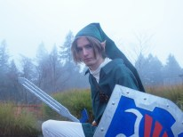 Link from Zelda Cosplay