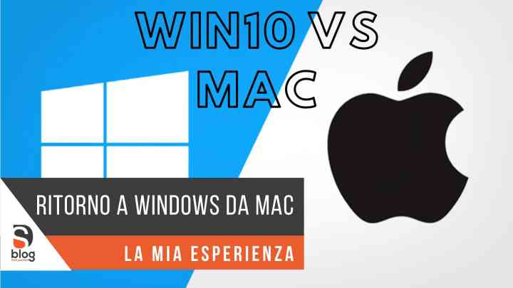 Da Mac a Windows 10 – un ritorno possibile?