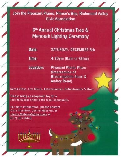 Christmas Tree and Menorah Lighting_2015