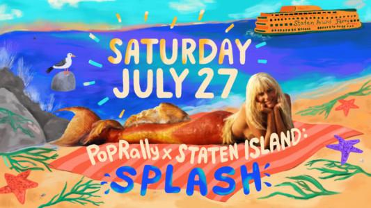 Rooftop Films Ron Howard's '80s classic Splashin Snug Harbor MoMA'sPopRally × New York Series July 27th