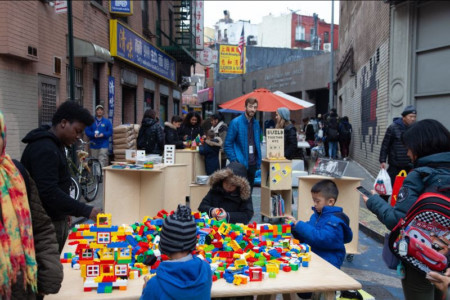 Help NYC DOT Activate Public Space -including Weekend Walks, Seasonal Streets, and Pedestrian Plazas