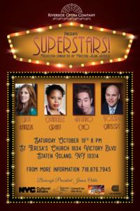 The Riverside Opera Company (ROC), Maestro Alan Aurelia, presents: Superstars!