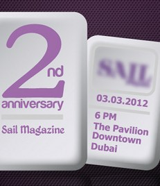 Sail eMagazine's 2nd Anniversary – Mark This Date 03.03.2012